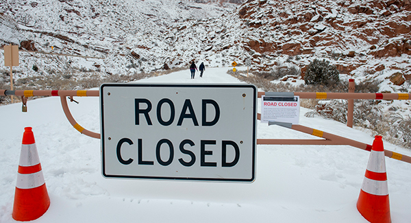 Parks closure due to government shutdown